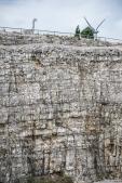Pedreidan kivilouhoksella on sauropodien jälkiä.